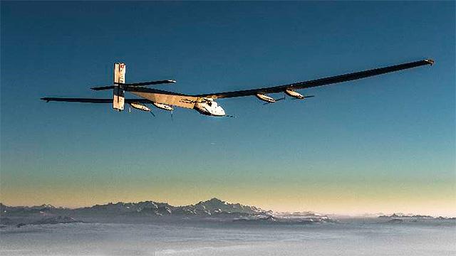 Solarflugzeug «Solar Impulse»
