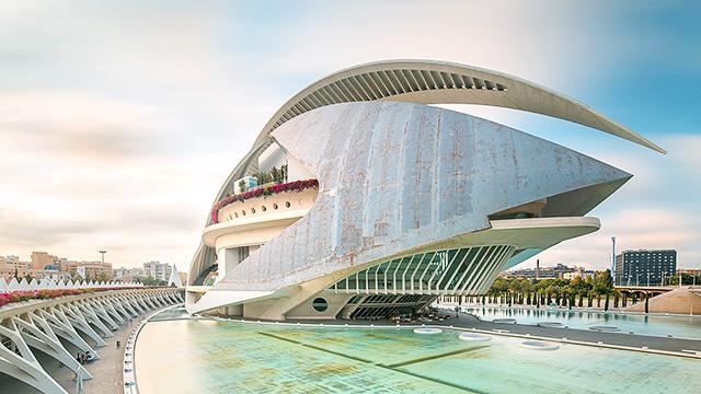 Gebäude in Valencia