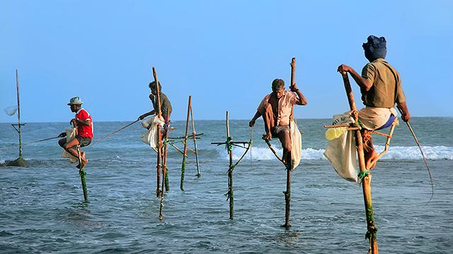 Fischer in Sri Lanka