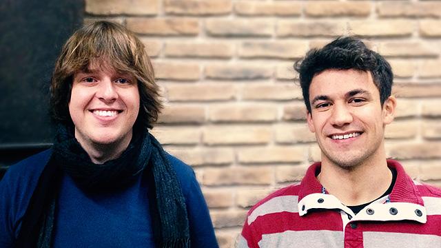 Marc Steiner und Lukas Baumann