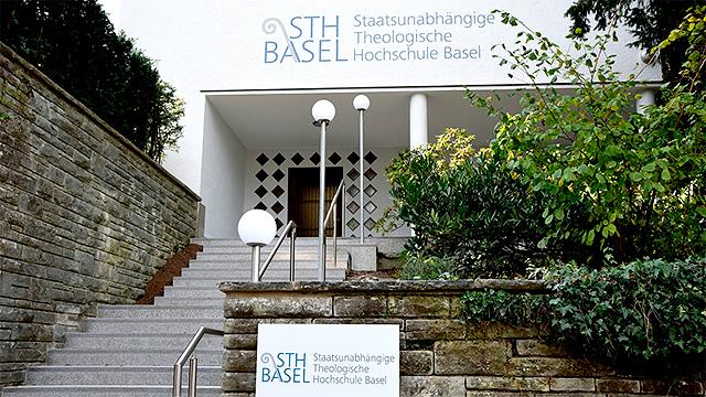 Eingang zur STH Basel
