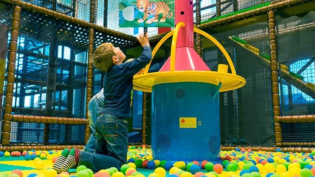 Indoor-Spielplatz der Südkurve Lyss