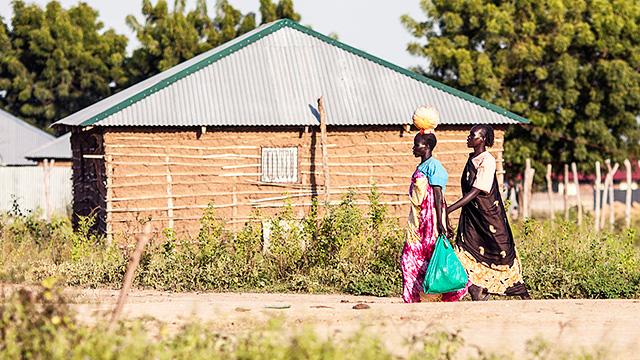 Dorf in Südsudan