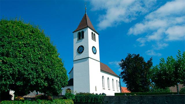 Paritätische Kirche Leutmerken TG