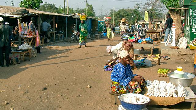 Markt in der togolesischen Stadt Kara