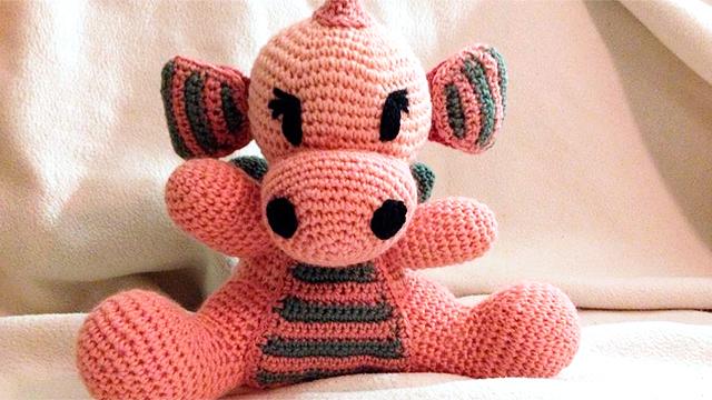 Eine Troschtbärli-Puppe