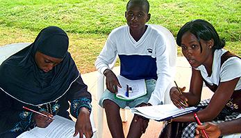 Gesprächsrunde «Aids Challenge»