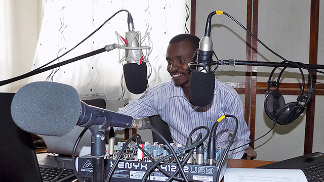 TWR-Radiostation in Garissa, Kenia