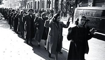 Festnahme von Juden, Budapest 1944 | (c) Deutsches Bundesarchiv