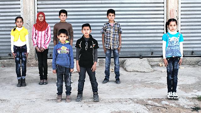 Flüchtlingskinder in Libanon