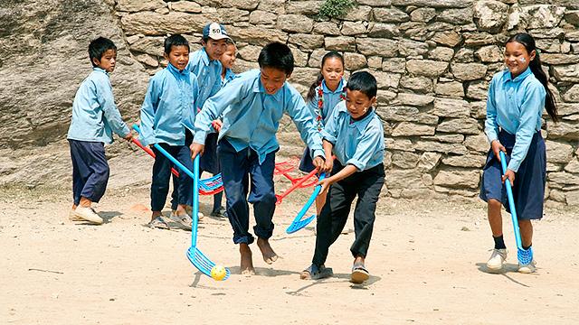 Unihockey in Nepal