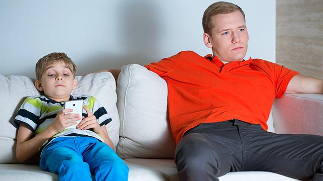 Smartphone vs Fernsehen