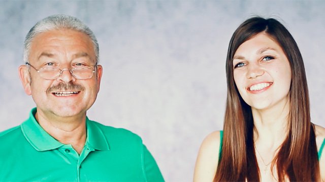 Andri Kober und Jacqueline Straub