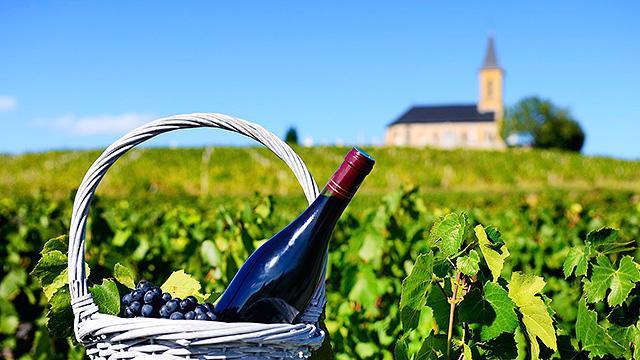 Wein und Kirche