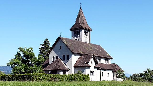 Kirchengebäude in Wetzikon