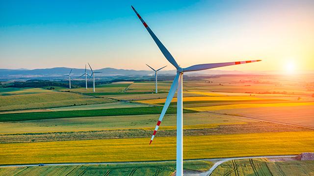 Energie gewinnen durch Wind