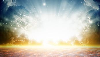 Strahlendes Licht