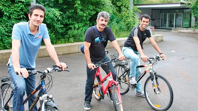 Projekt «Fahrräder für Flüchtlinge»