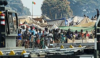 Flüchtlinge in Zentralafrika