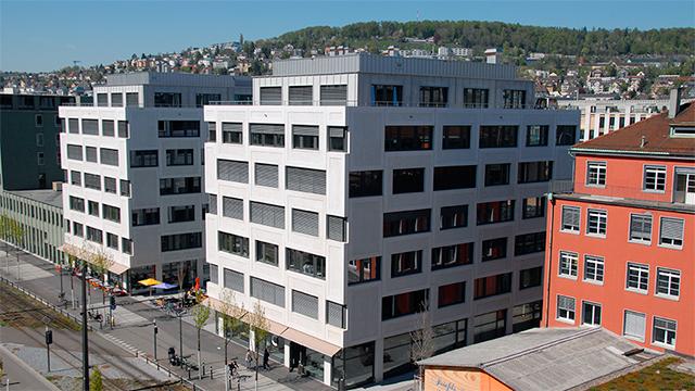 Gebäude Kulturpark in Zürich