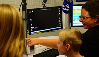Radiostudio erleben